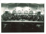 University Orchestra concert in Iowa Memorial Union, The University of Iowa, 1950s