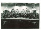 University Orchestra concert in Iowa Memorial Union, The University of Iowa, 1950s