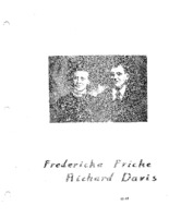 Fricke Family Genealogy, Volume II - Fredericka Fricke & Richard Davis  (PART ONE of Part XI)