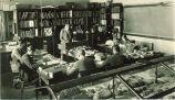 Geology class, The University of Iowa, 1920s