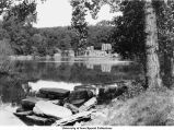 Iowa River, Iowa City, Iowa, 1943