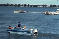 Boaters Enjoy the Lake.