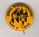 Homecoming badge, November 9, 1935