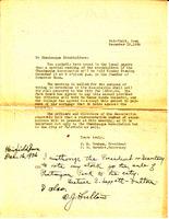 Chautauqua letter