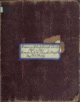 Women's Club Scrap Book 1920-1921 Compiled by Blanch Wingate, Mrs. F. W. Weitz, President