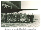 Henry Wallace and members of mission with Russian escorts, Siberia, 1944
