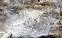 Sewage Disposal Plant Aerial