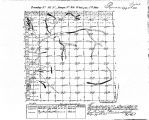 Iowa land survey map of t096n, r044w