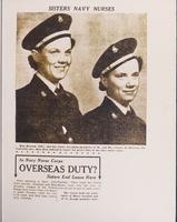 Sisters Navy Nurses