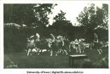 Outdoor dance performance, The University of Iowa, 1910s
