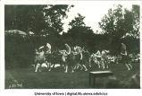 Outdoor dance performance, The University of Iowa, 1910s