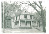 Alumni House at 130 N. Madison Street, The University of Iowa, February 1954