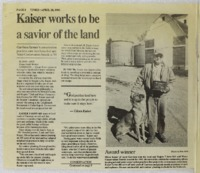 Kaiser Works to be a Savior of the Land