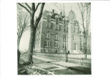 Medical Building, the University of Iowa, 1890s
