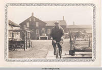 Albert Fels on a Bicycle