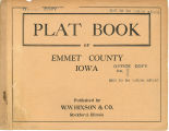 Plat book of Emmet County, Iowa