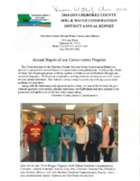 Cherokee County Soil Conservation District Annual Report - 2014-2015