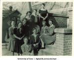 Students, The University of Iowa, 1940s