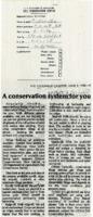 Conservation System