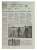 Quad-District Conservation Newsletter; Vol. 1, no. 2 (2000, Spring).