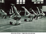 Calisthenics, The University of Iowa, 1950s