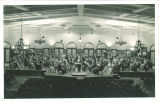 University orchestra in Iowa Memorial Union, The University of Iowa, 1940s