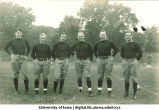 Football players, The University of Iowa, 1900s