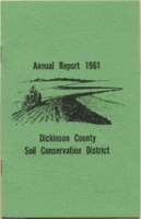 Dickinson County Soil Conservation District Annual Report - 1961.