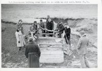 T.F. Borrowers Talking Over What to do with an Old Well in Davis County, Iowa