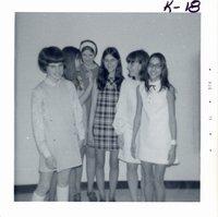 Speech contestants, 1971
