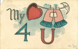 """My heart pants 4 u,"" August 1, 1907"