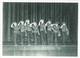 Boys performing on stage, The University of Iowa, March 10, 1950
