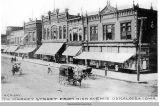 South Market Street from High Avenue, Oskaloosa, circa 1895; Mahaska County, Iowa