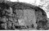 Anamosa Stage in McCune Quarry, Cedar Township, Iowa, late 1890s or early 1900s