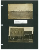 Old Lumber yard, 1909 and Opera House, n.d.
