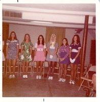 Davis County Queen of Conservation Contestants in 1973