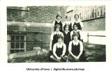 Senior softball team, The University of Iowa, 1928