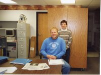 2004 - NRCS Soil Conservationist TJ Mathis and District Conservationist Shiloh Bradley