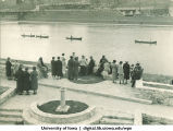 On the Iowa River on Mother's Day, The University of Iowa, 1937