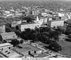 Pentacrest, Hubbard Park, The University of Iowa, 195-