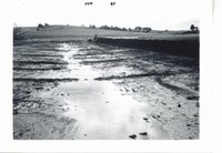 Waterway on LaVerne M. farmland, 1965