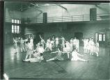 Fancy dance in women's gym class, The University of Iowa, 1910s