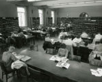 View of Bookends Reading Room (Periodical Reading Room), 1962