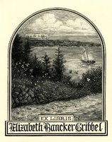Elizabeth Rancker Gribbel Bookplate