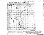 Iowa land survey map of t083n, r044w