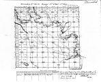 Iowa land survey map of t099n, r009w
