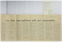 1970 - Can Help Stop Pollution With Soil Conservation