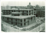 Construction of Lindquist Center, the University of Iowa, 1970 or 1971