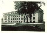 East side of Physics Building, the University of Iowa, 1920