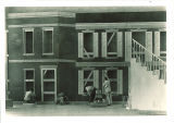 Set construction, The University of Iowa, 1920s